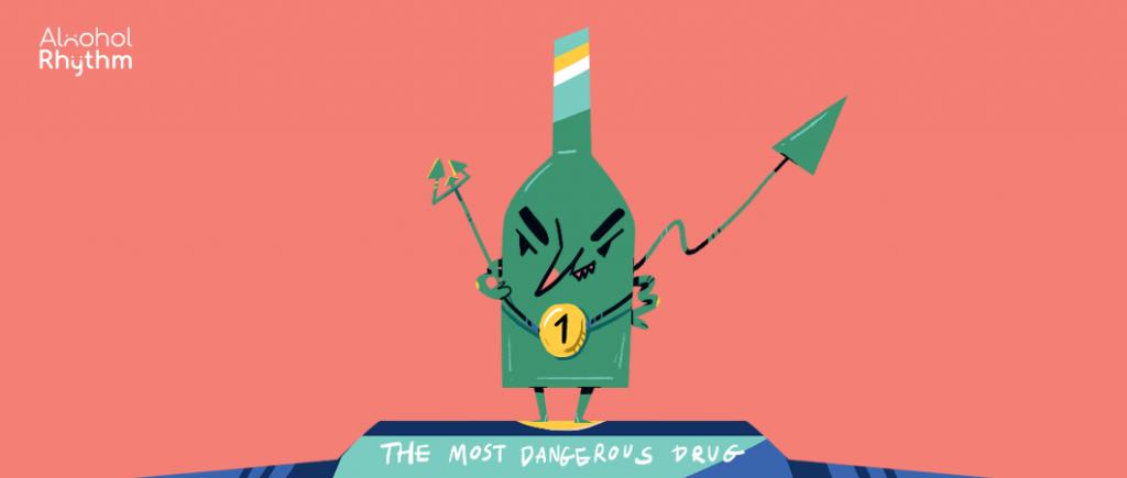 เมื่อสถิติบอกว่า เหล้าคือยาเสพติดที่อันตรายมากที่สุด