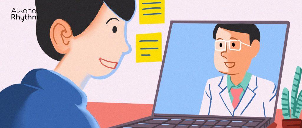 เมื่อโลกเปลี่ยนไป การรักษาระยะไกล 'Telemedicine' อาจเป็นทางเลือกใหม่ของผู้ติดสุรา