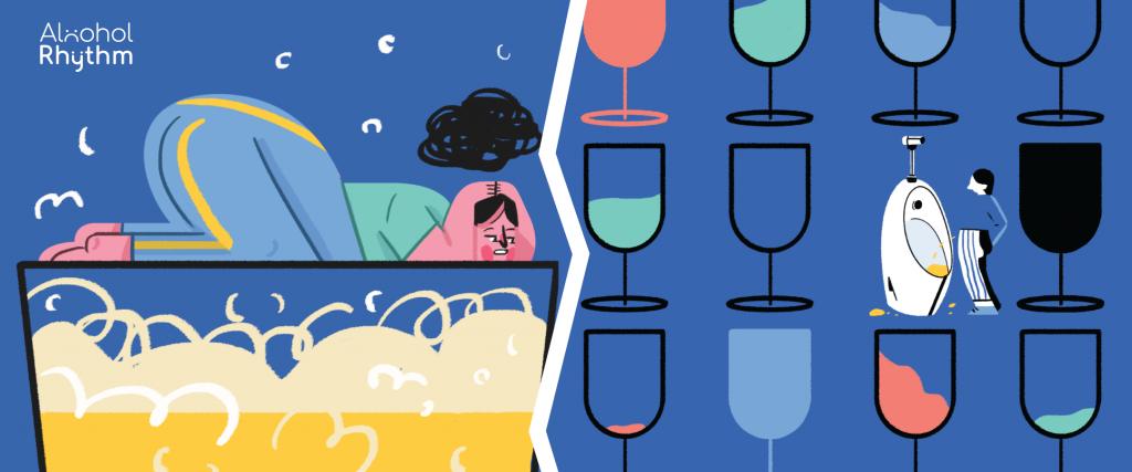 เหล้ากับเรา : ดื่มแล้วปวดเบา-ดื่มแล้วเมาค้าง