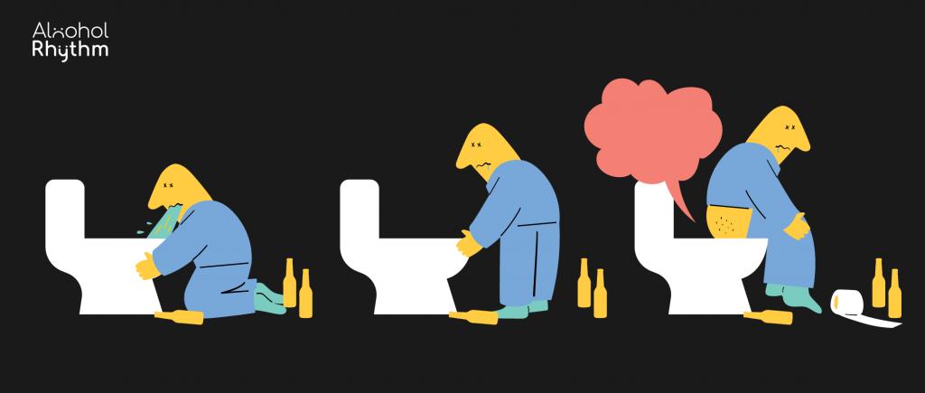 จู๊ด จู๊ด หลังดื่มหนัก: สาเหตุของอาการท้องเสียจากเครื่องดื่มแอลกอฮอล์