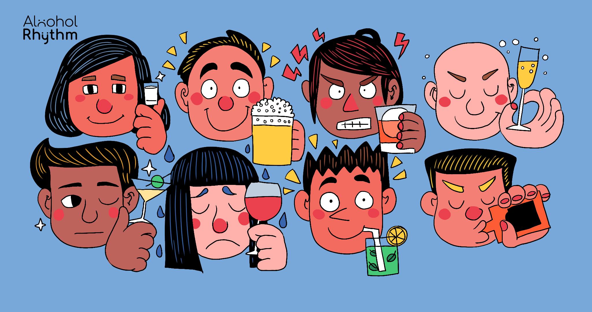 ดื่มเบียร์แล้วชิล ดื่มเหล้าแล้วก้าวร้าว? ความเชื่อผิดๆ ที่ว่าดื่มเครื่องดื่มแอลกอฮอล์ต่างชนิดก็ทำให้เมาต่างมู้ด